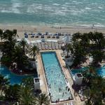 The fantastic pools at the Diplomat