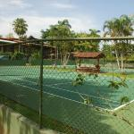 Tennis Courts on a sunny day
