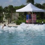 Foam party for Memorial Day