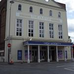 The Old Vic at the end of the road