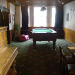 Breakfast area and Pool Table