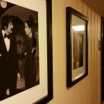 Halls are decorated with photos of celebrities who have played the Empire Room