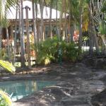 the spa pools...