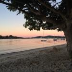 Sunset on Noosa river (across the road)