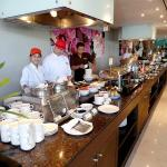 The breakfast buffet is as good as you will find, anywhere in the world