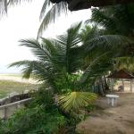 View from room on to the beach
