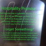 "We were ""Promised"" Hospitality yet we received quite the opposite!"