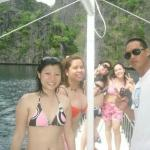 Enjoying the nature in Coron