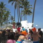 musse party on the beach