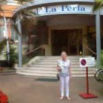 Entrance of La Perla
