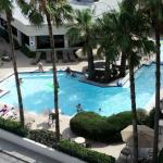 Holiday Inn Resort - Galveston- pool.  They also have a children's pool and a covered pavillion.