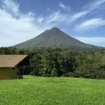 Arenal Volcano - wow. View from our terrace.