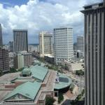View of the city from room 2339.