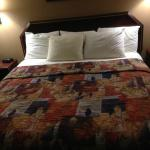 comfortable bed at Days Inn Blythewood, SC