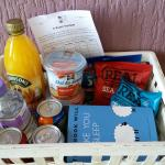 Mini Hamper in Room