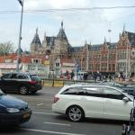 Directly across from Amsterdam Train Station and centrally Located.