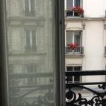 View from our room - so Parisian!