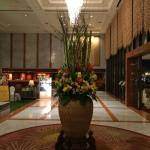 Floral Display at the lobby