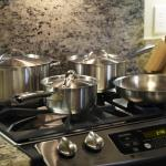 Our gourmet kitchens are spacious, come fully equipped