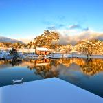 Winter Wonderland on the 1st day of Winter 2015 at Moonbah Lake Hut
