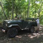 4x4 transport to the waterfall
