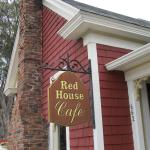 Exterior of Red House Cafe