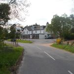 The Inn from the road