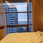 View of Manila bay from the room (11th floor)