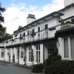 front of Rothay Manor Hotel