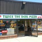 Twice the Deal Pizza