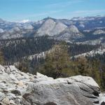 From day hike to Ostrander Lake, Yosemite National Park