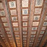 Beautiful restored ceiling