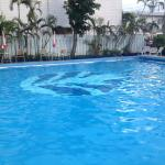 Pool at the hotel.