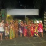 Photo with the Balinese Traditional Dancers at Ramada Bintang