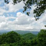 View from the nearby Blue Ridge Parkway