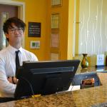 Great Front Desk Staff, Mark