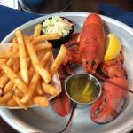 1 lb lobster special (made me sick)