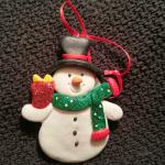 Free keepsake ornament.  Nicely done Christmas Inn!