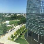daytime view of Myriad Gardens from our room.