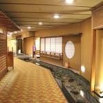 isle to dining room. experience traditional japanese interior