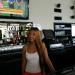 New Staff-Stephanie, a great bartender and hostess