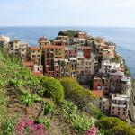 View of Manarola during our first hike