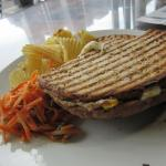 The Tower Cafe - Tuna Melt - did not melt our hearts