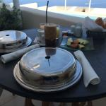 breakfast served to your balcony