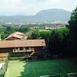 View and Tennis Courts