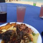 Lunch beach party