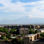 The view of Mt Ararat from room 136