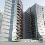 The exterior view of the hotel, while mall of Emirates is behind my back