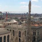 view from roof of Duomo