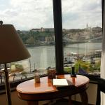 Complimentary room upgrade.the view of danube river was beautiful!